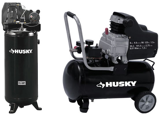 Husky Air Compressor Image
