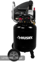 Husky 10 Gallon Air Compressor L210VWD