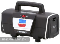 Husky 12-volt/120-volt home and auto inflator