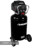 Husky 30 Gallon Air Compressor, C303H