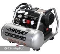 Husky 4 Gal Air Compressor, C041H