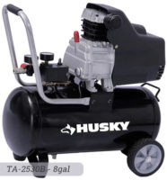 Husky 8 gallon Air Compressor TA-2530B