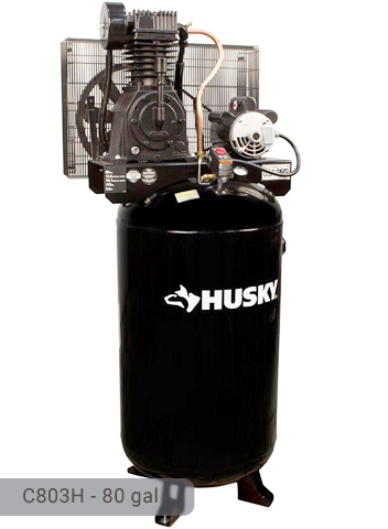 Husky 80 Gal Air Compressor C803H