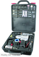Husky 4-Tool Air Tool Kit, HDK1008
