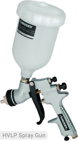 Husky HLVP Spray Gun - H4840GHVSG Gravity Feed