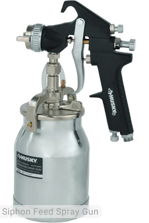 Husky Siphon Feed Spray Gun, H4930SSGA