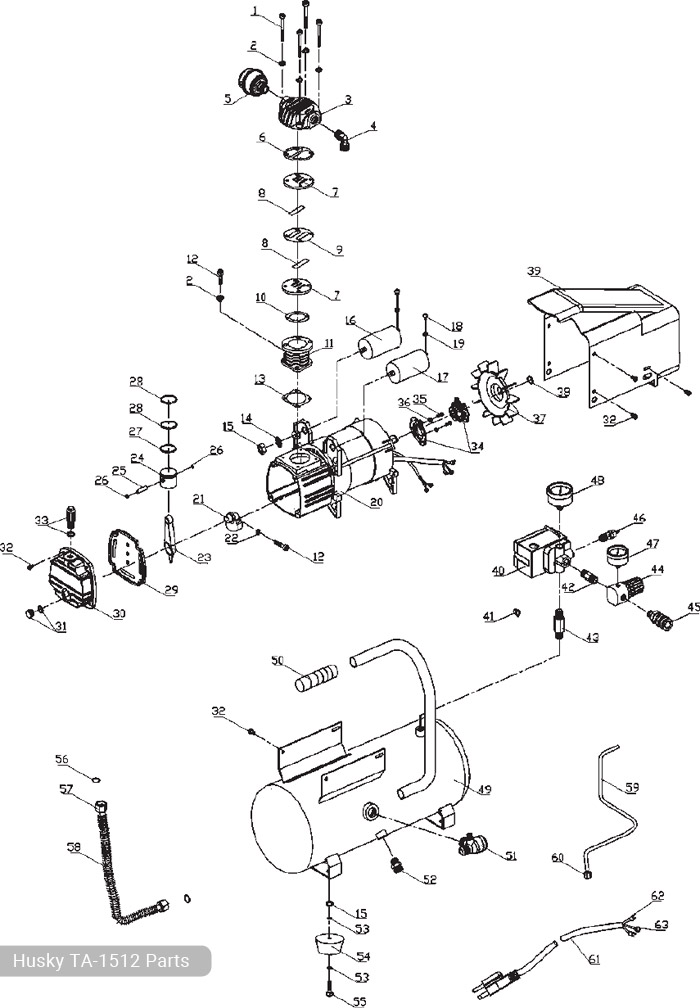 ta 2530b parts diagram   22 wiring diagram images